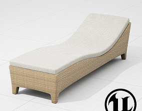 3D asset Dedon Barcelona Lounge UE4