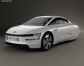 Volkswagen XL1 2013 3D model