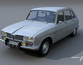 3D model Renault 16 TS - 1970