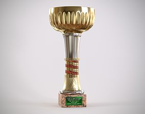 Mini Beach Volley Cup Trophy 3D model