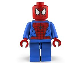 3D Spiderman Lego