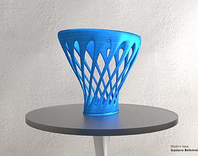 3D print model Modern Vase Elliptical Spiral