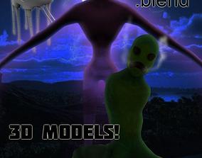 Minecraft Real Life GHAST 3D asset