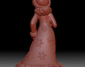3D printable model girlie