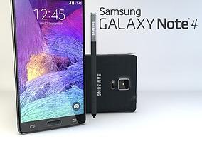 3D asset Samsung Galaxy Note 4