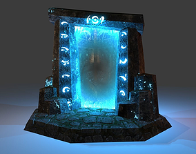 3D asset Old Portal