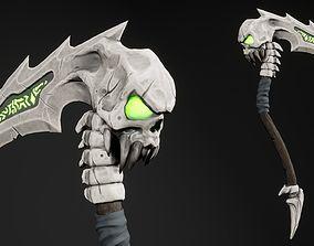 Stylized Scythe 3D model