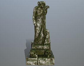statue 5 3D model realtime