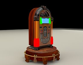 Juke box 3D model architectural