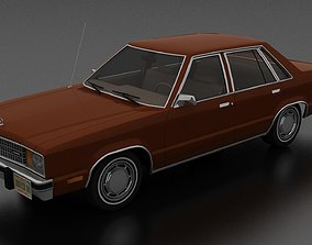 Fairmont 4dr sedan 1978 3D model