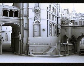 Old City V2 3D castle