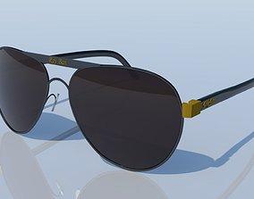 3D model low-poly Sunglasses