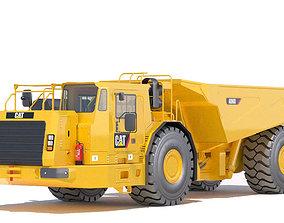 Underground Mining Truck 3D