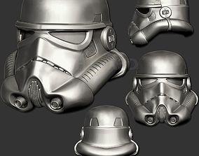 wars StormTrooper V2 3D Print Ready Helmet