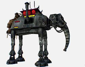 3D asset Metal Elephant Robot Transport Star Wars