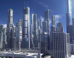 Freeway02 City 3D rigged