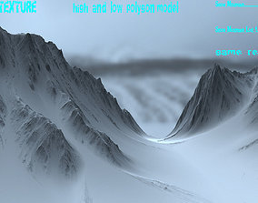Snow mountain 04 3D