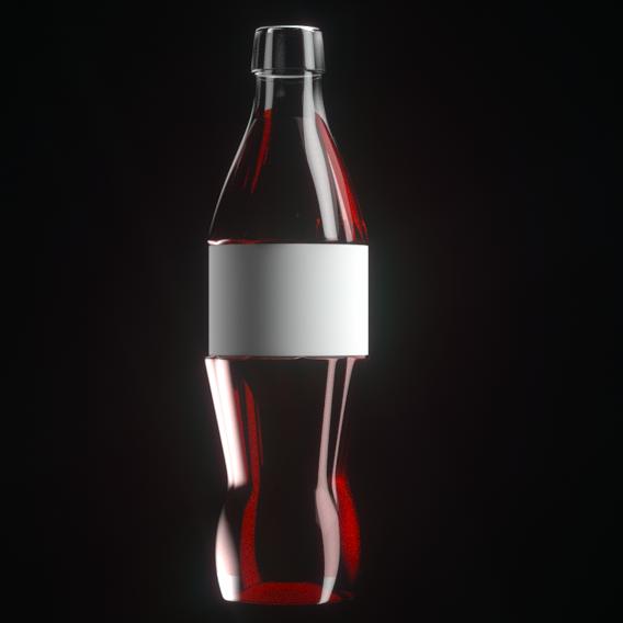 Unbranded bottle