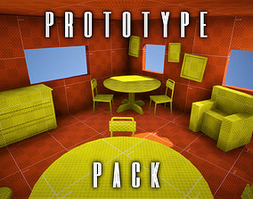 3D asset Unreal Engine - House Prototype Pack