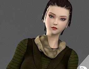 AERA - Survivor Woman 3D model