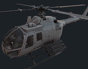 3D model MBB Bo 105