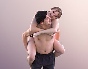 Anastasia Andy 10760 - Couple In Swimwear 3D asset 1