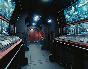 3D model Spaceship Interior C HD