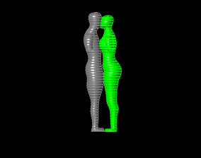 kadin erkek 3D print model