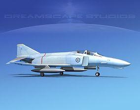 3D model McDonnell Douglas F-4J Phantom II HAF