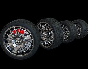 3D car tire models