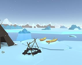 POLYArctic 3D asset game-ready
