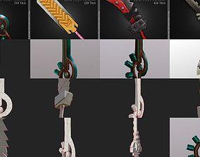 Stylized Swords 3D