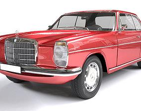 Mercedes Coupe W114 240D 3D
