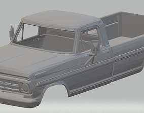Ford F 100 - 1969 Printable Body Truck