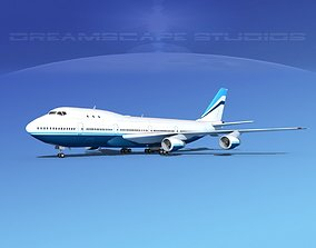 3D Boeing 747-100 Corporate 1