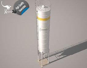 3D asset Cement Silo Unibeton - 79 m3