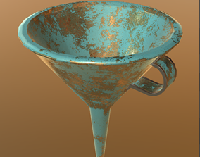3D asset game-ready Funnel