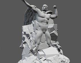 creation of adam 3D printable model