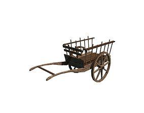 3D asset Hand cart