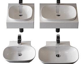 3D washbasins Laufen Ino