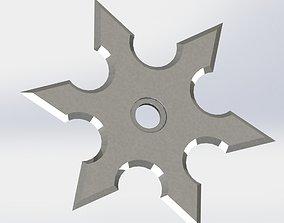 3D printable model Shuriken - Japanese hidden-carrying 1