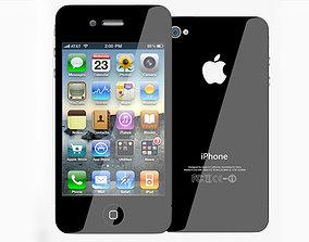 3D Apple iPhone 4S