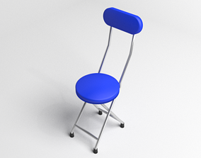 3D Rounded Folding Chair