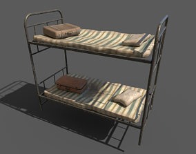 Dirty Bunk Bed 3D