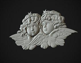 Angels Head 3D printable model