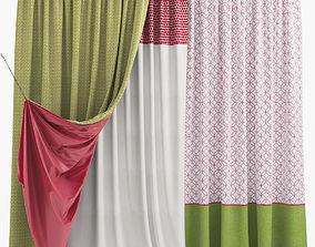 3D pattern Curtains