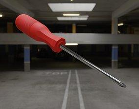 Screwdriver 3D tool equipment