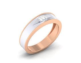 3D printable model Diamond Couple Ring engagement