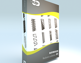 20 Bathroom radiators 3D model