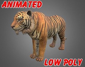 TIGER 3D MODEL - ANIMATED animated